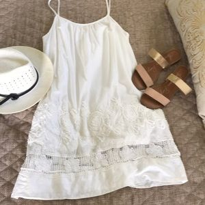 Rachel Roy Simple white summer dress
